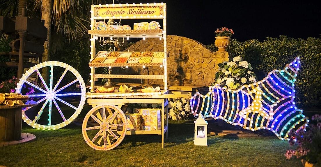 angolo siciliano luminarie siciliane