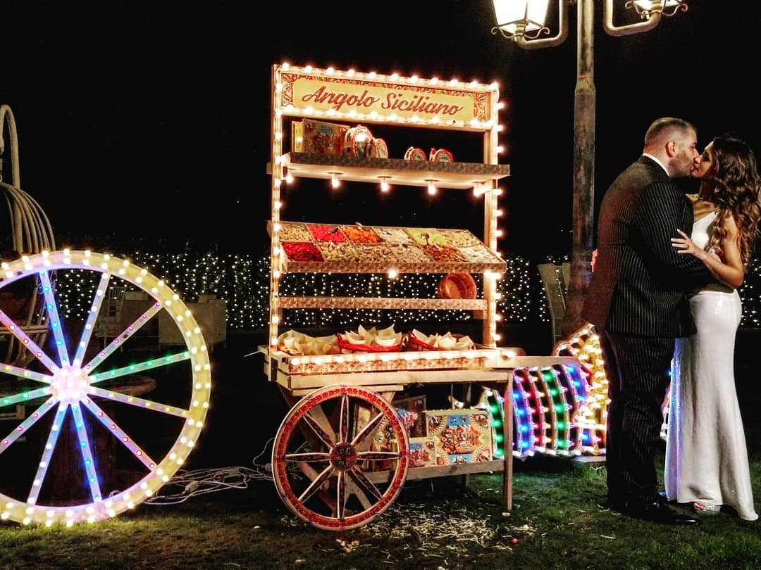angolo siciliano luminarie sposi