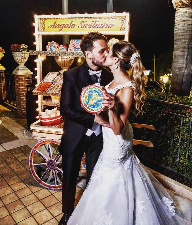 angolo siciliano sposi tamburello
