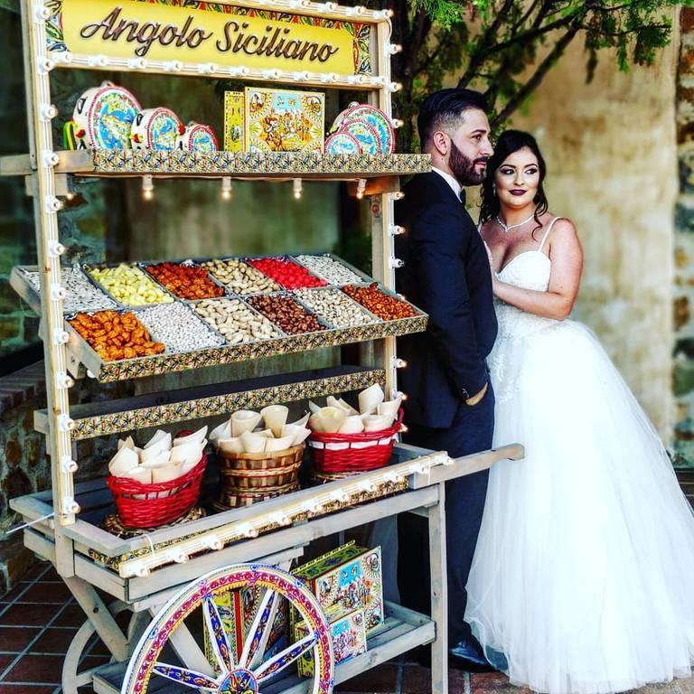 angolo siciliano sposi matrimonio