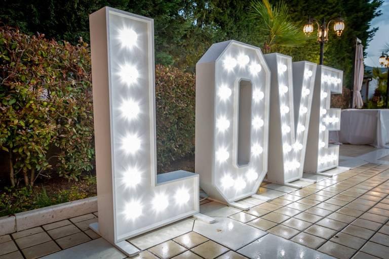 scritta love matrimonio