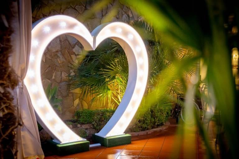 cuore luminoso matrimonio