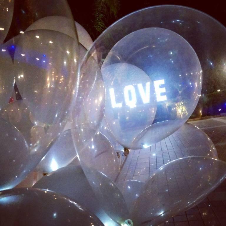palloncini a led love
