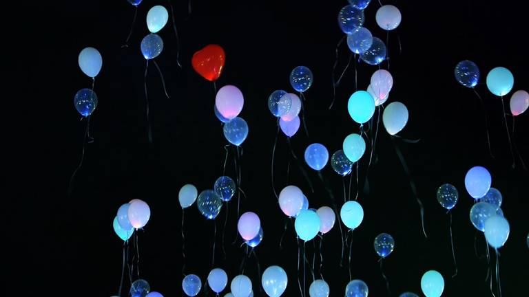 palloncini a led forma cuore