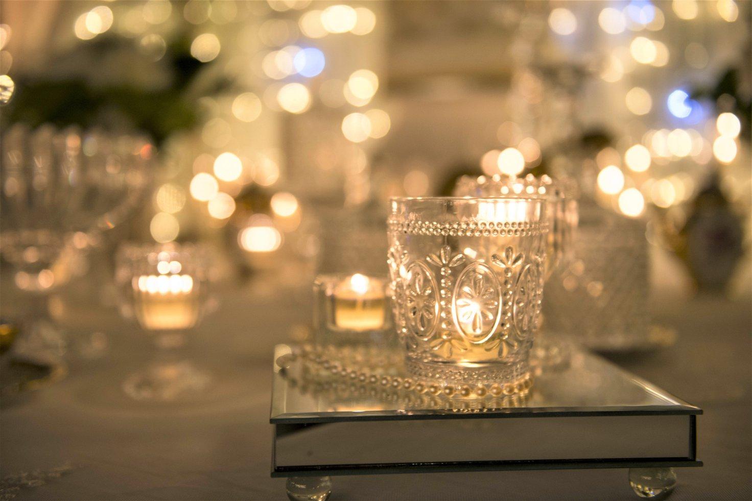 confettata porta candele