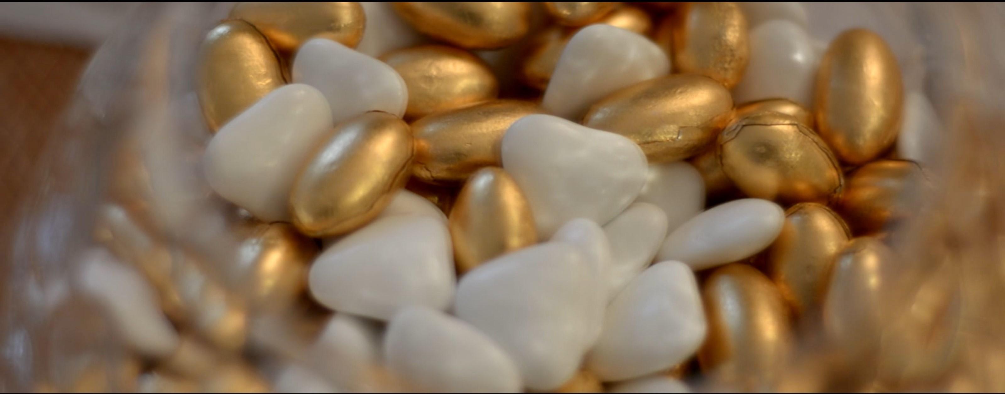 confettata confetti oro