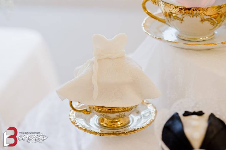 sweet table cup cake sposa