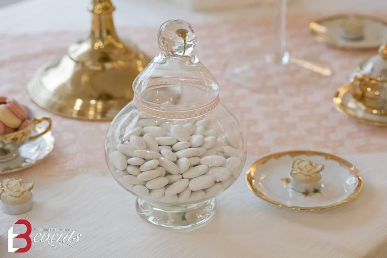 sweet table vasi confetti
