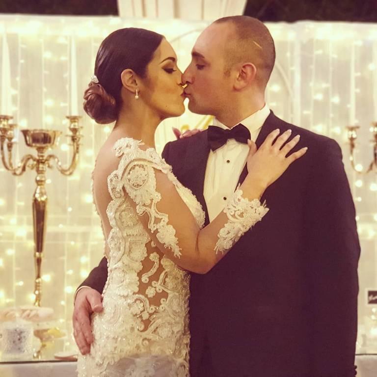 sfondo luminoso matrimonio