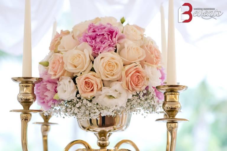 sweet table fiori freschi