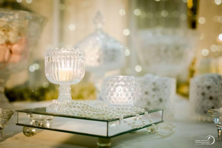 specchio candele