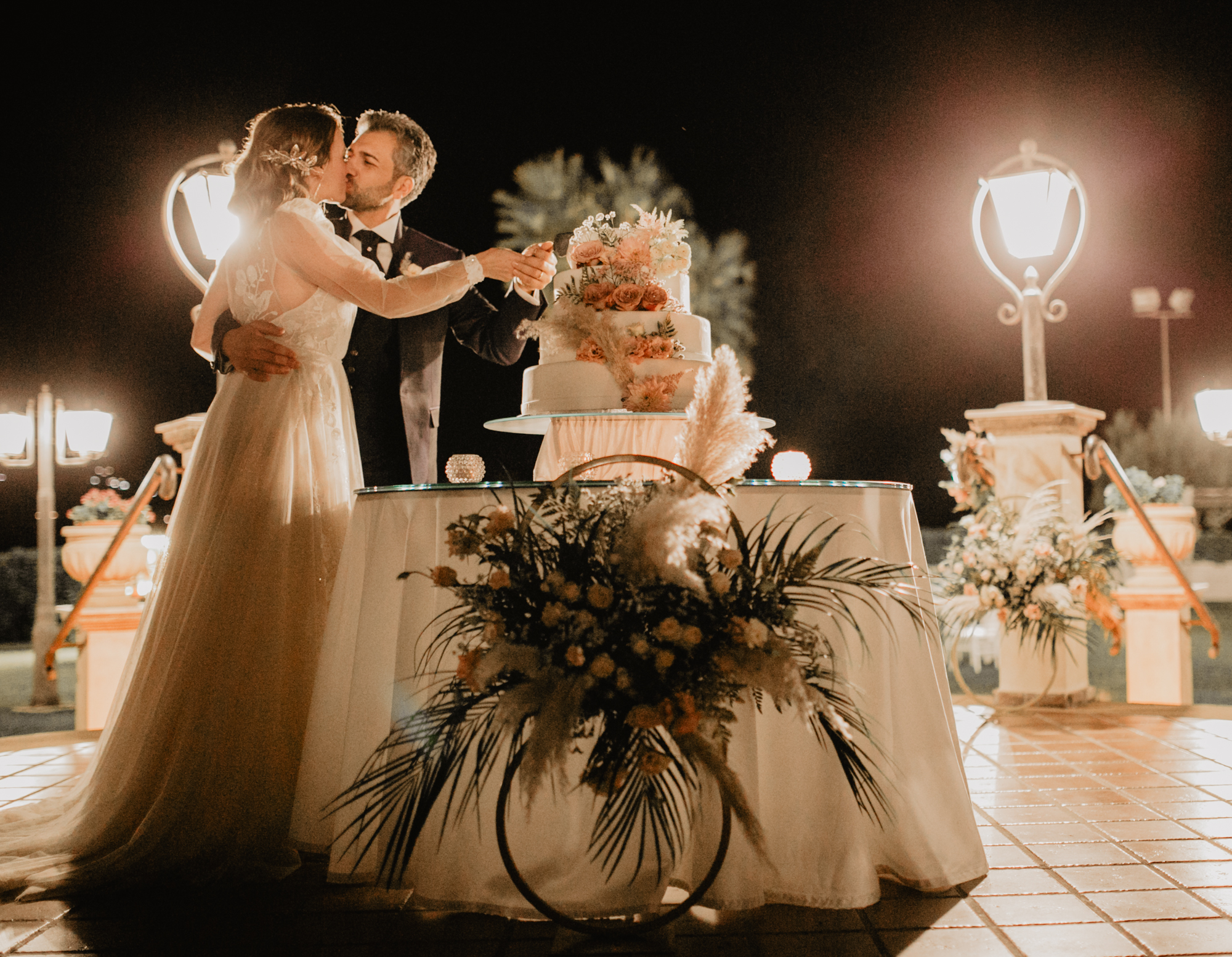tavolo torta sposi