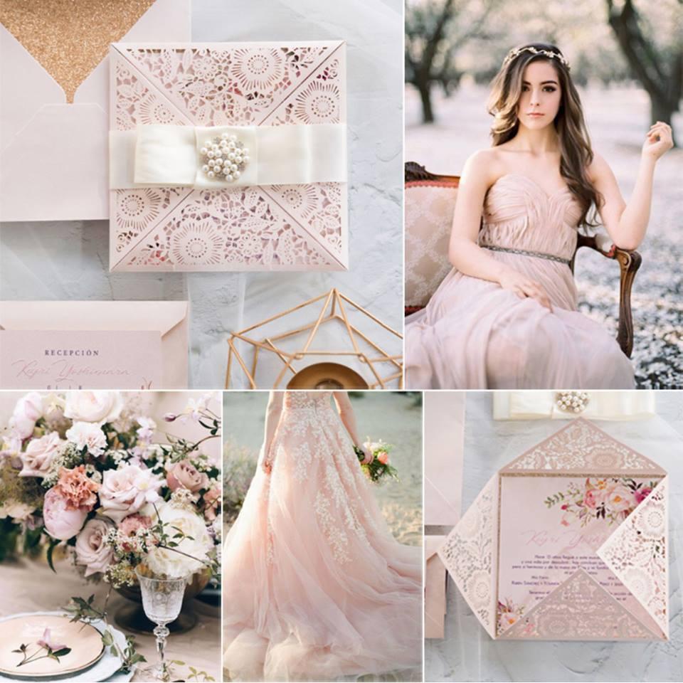 wedding stationery gioia carta pink