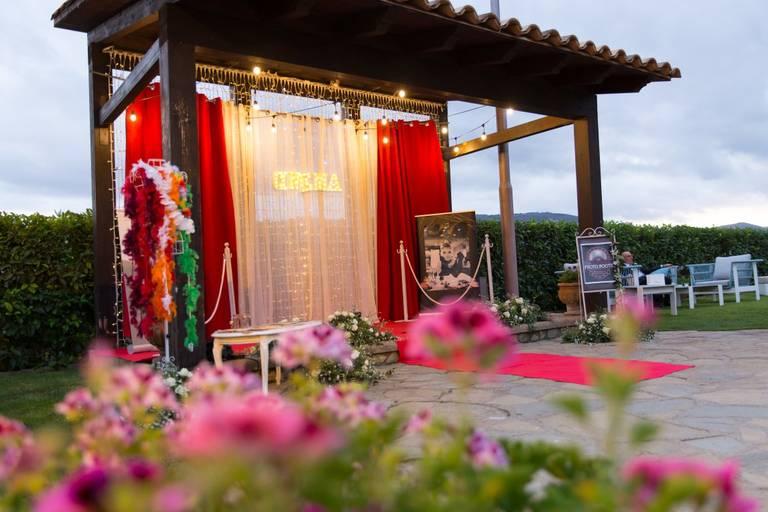 Matrimonio tema cinema photobooth oscar