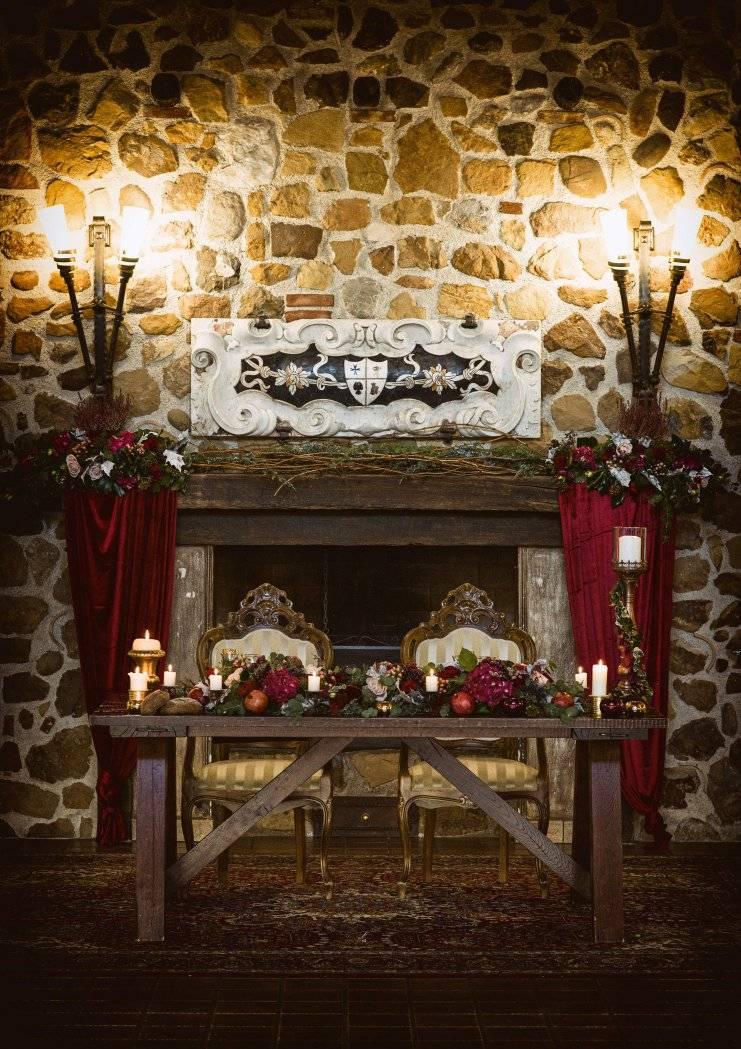 tavolo sposi medievale