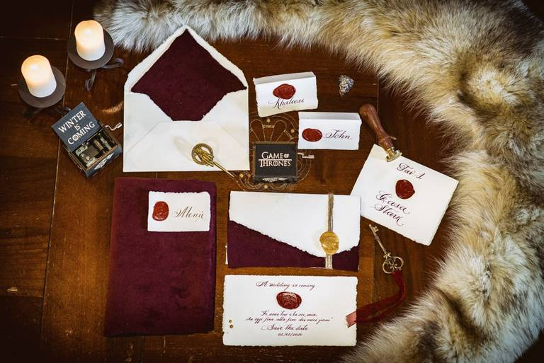 stationery game of thrones