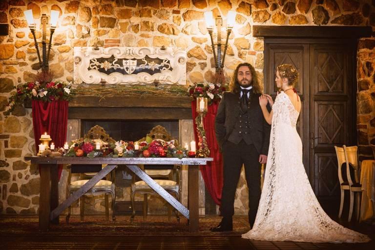 trono di spade tavolo sposi