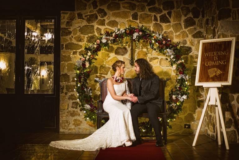 photobooth fiori wedding