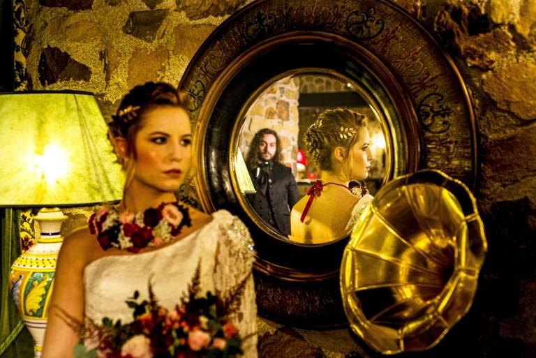 foto specchio matrimonio