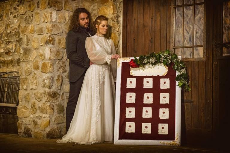 tableau de mariage velluto