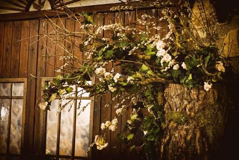 wedding flowers wood