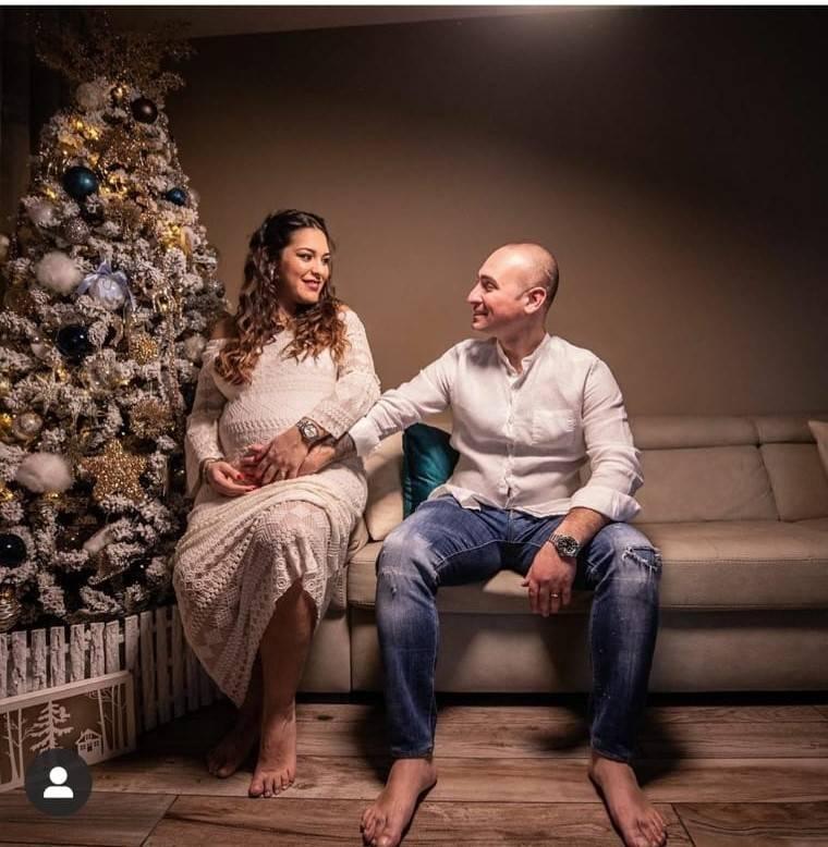foto gravidanza mimmo giordano