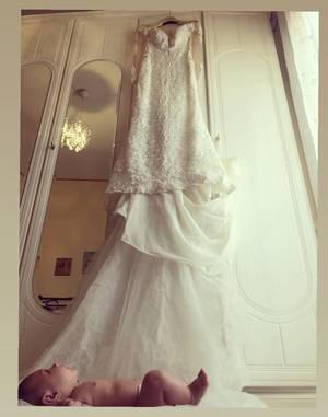 abito da sposa bimbo