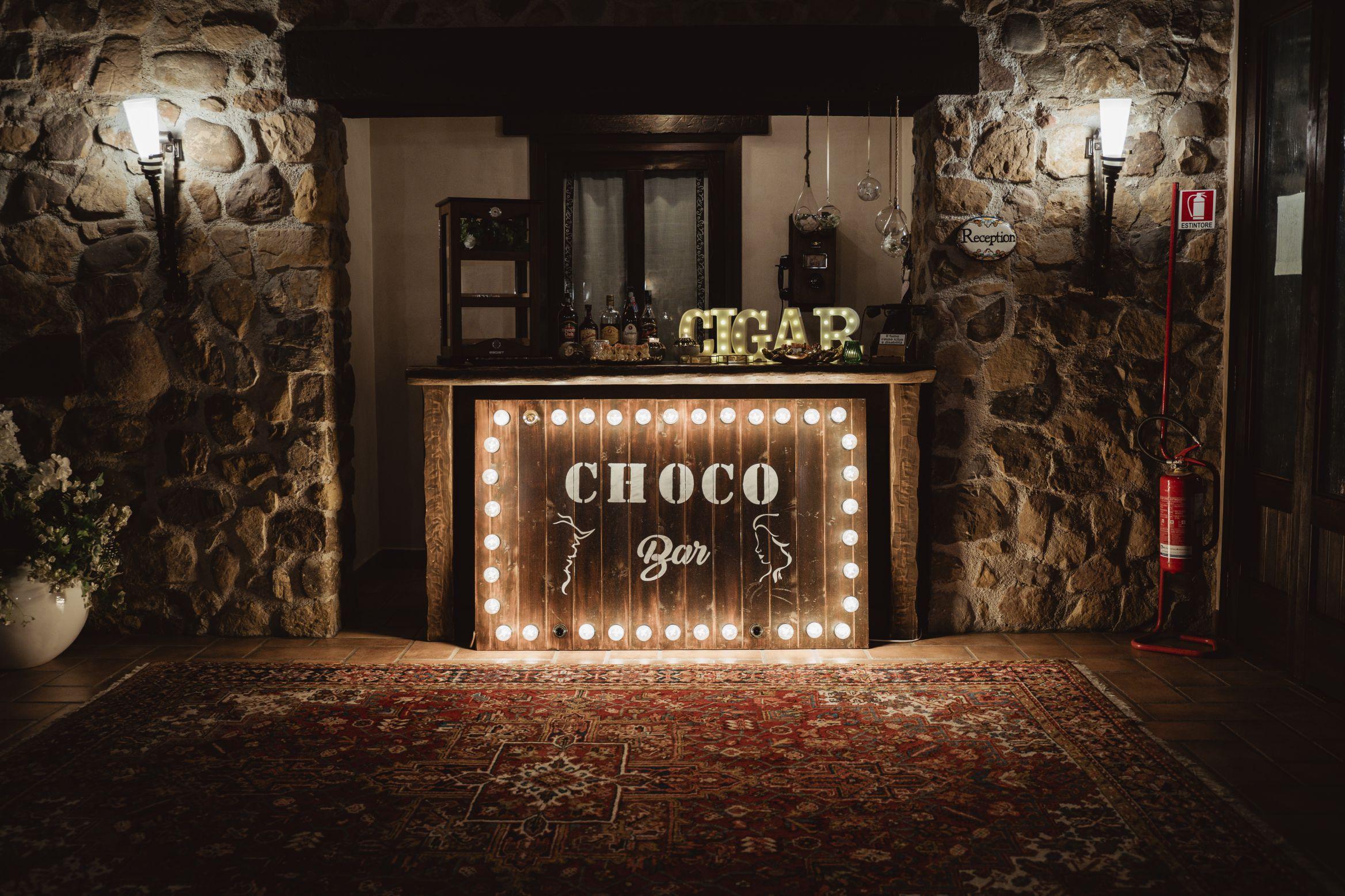 angolo sigari rum cioccolato