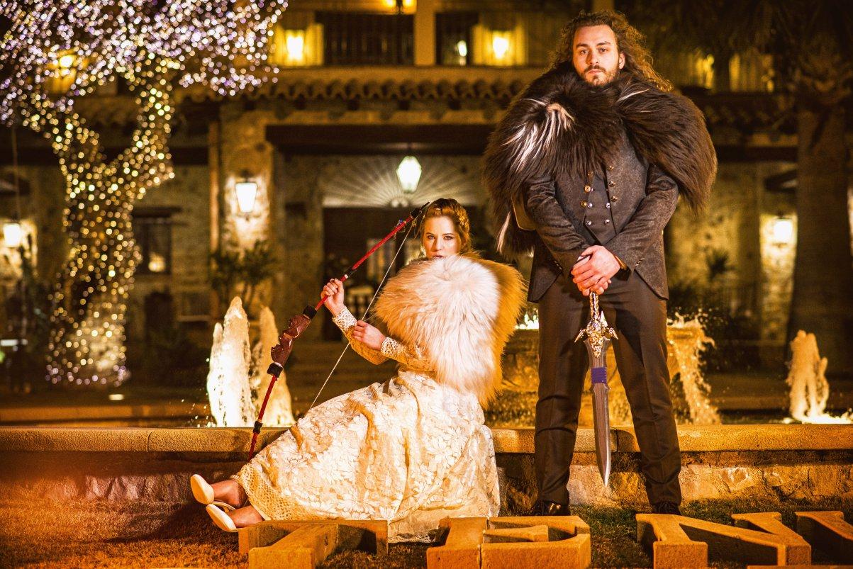 matrimonio shooting invernale
