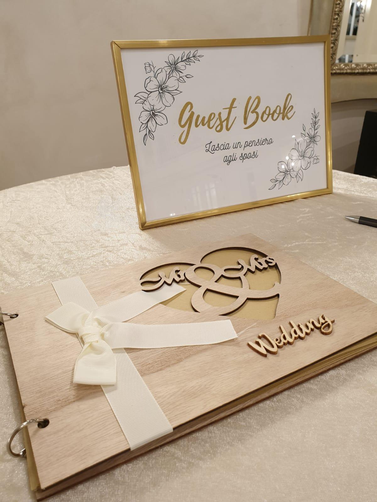 guestbook matrimonio sicilia