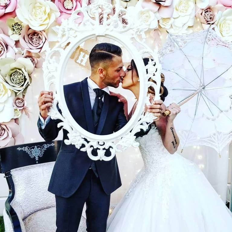angolo foto bacio sposi