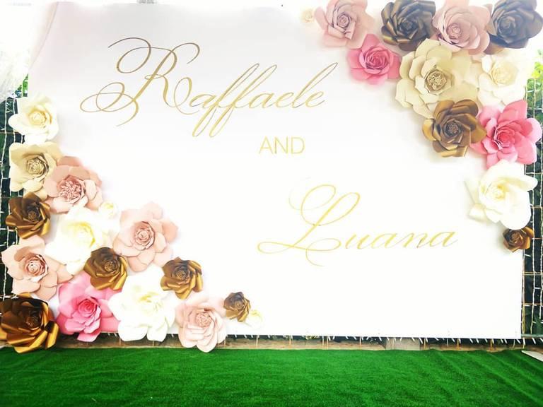 angolo foto personalizzato matrimonio