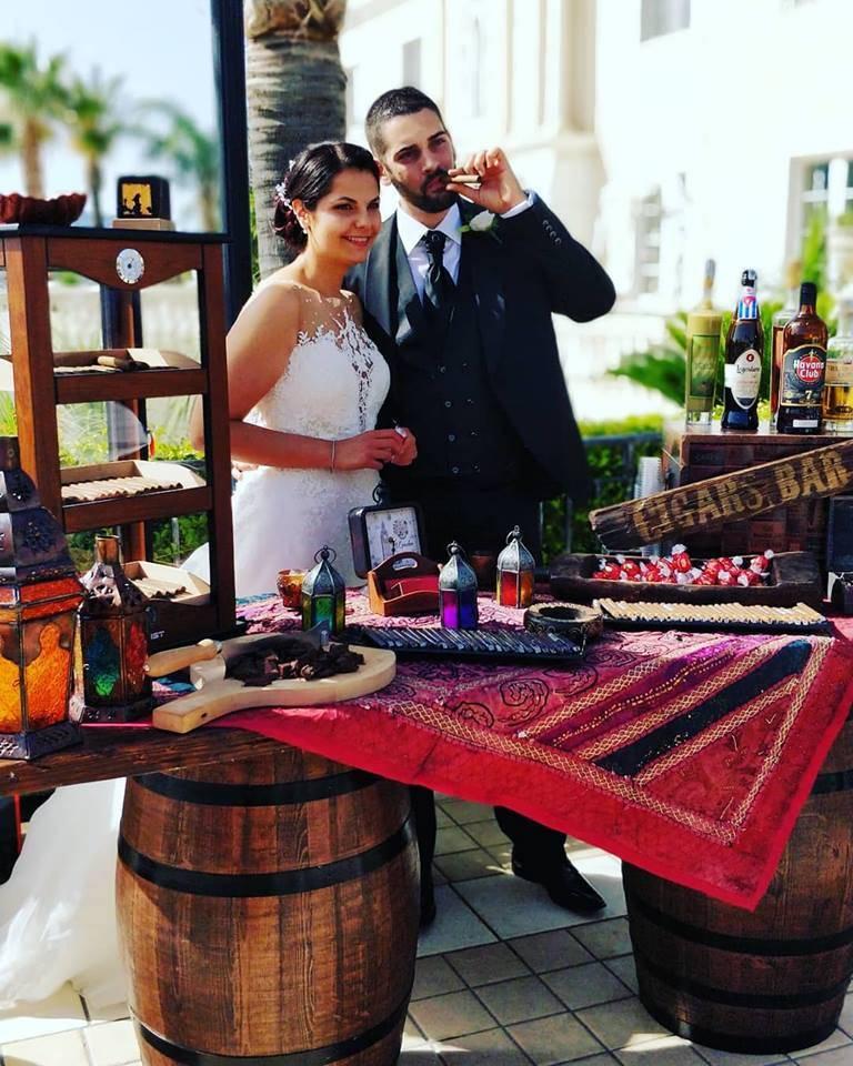 angolo cubano matrimonio pranzo