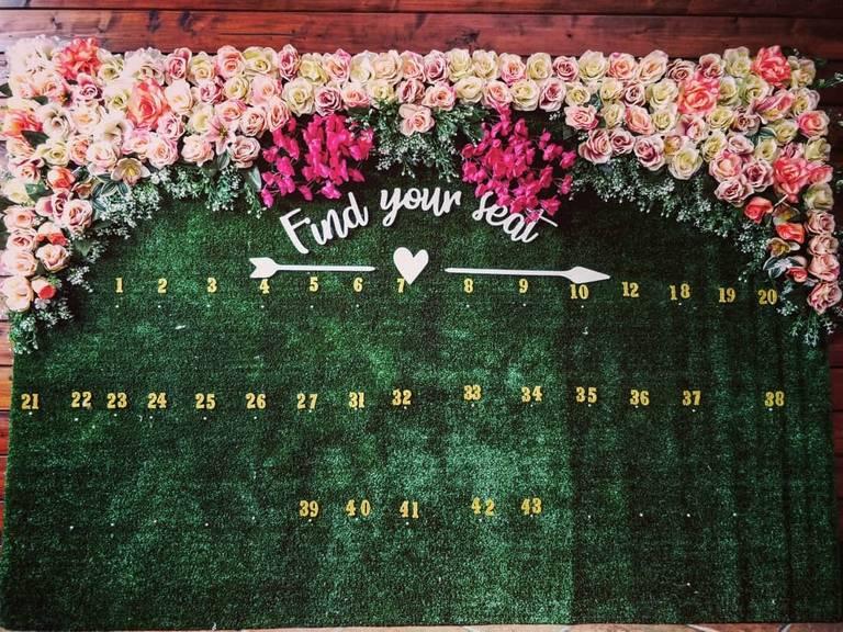 tableau de mariage fiori prato
