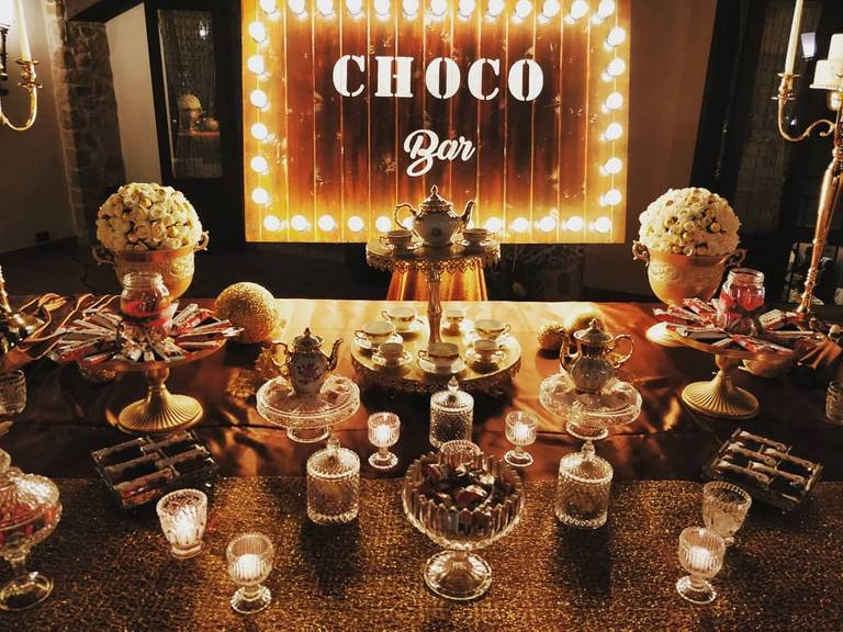 angolo cioccolato kinderata elegante