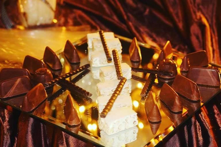 angolo cioccolato bastoncini cioccolato